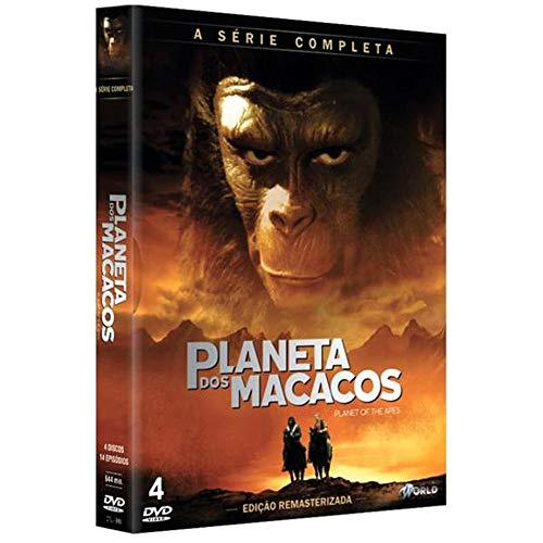 Planeta dos Macacos Série Completa Digibook 4 Discos
