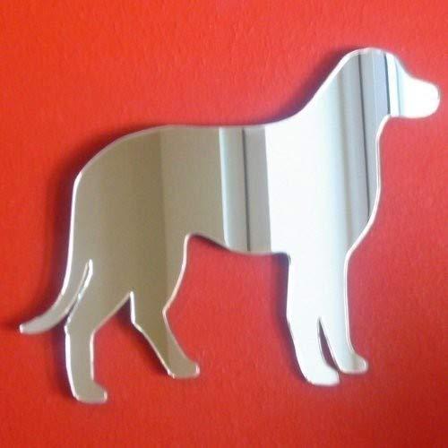 Sendmeamirror Labrador Miroir sur Pied 12 cm x 10 cm