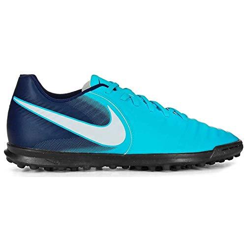 Nike Unisex-Erwachsene Tiempo X Rio IV TF 897770 414 Sneaker, Mehrfarbig (Indigo 001), 45 EU