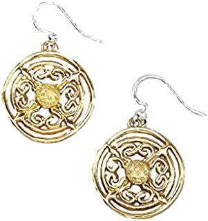 Willow House Jewelry Designed by Sara Blaine Women's Captiva Day: Medallion Earrings