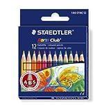 Staedtler Noris Club Coloured Pencils Anti-Break-System 12 Pack (144 01nc12) by Staedtler
