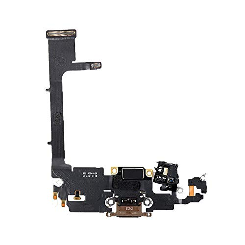 Best Shopper - Replacement Charging Charge Port Flex Cable Compatible with Apple iPhone 11 Pro (A2160) - Gold