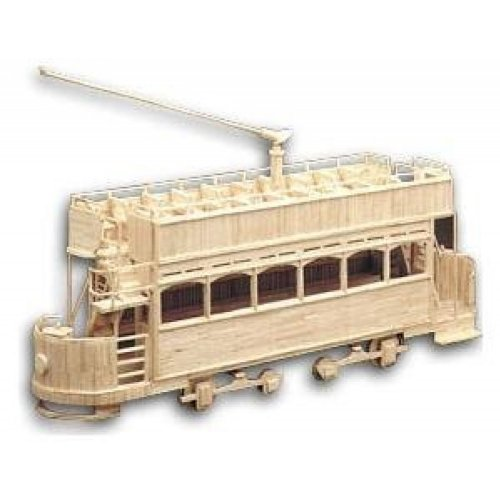Hobbys Matchbuilder Electric Tram Car Kit c 1908 # 6101