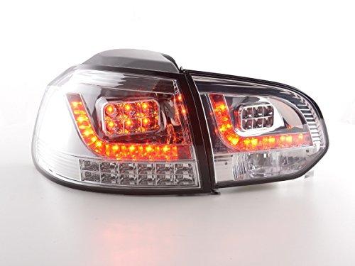 FK Automotive FKRLXLVW13523 LED Feux Arrière, Chromé