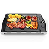 Raclette Grill per 8 persone Smart Touch Control Regolabile 1200W Controllo termostatico termostatico Controllo del calore Interno Macchina per raclette Griglia antiaderente Griglia antiaderente KAYBE