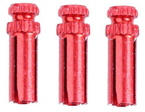 Bull's Flightschoner Aluminium - Farbe: Rot (1 Satz = 3 Stück)