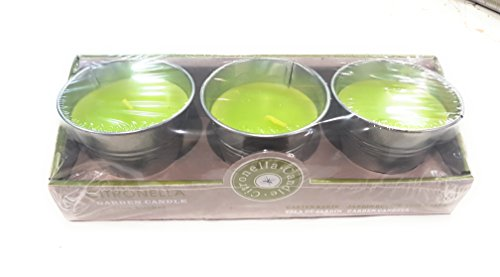 OOTB-Vela Citronela En Caja Zinc-Color Verde