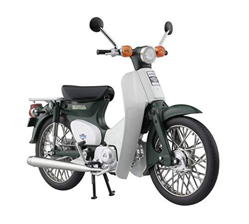スカイネット 1/12 完成品バイク ホンダ スーパーカブ 50 グリーン