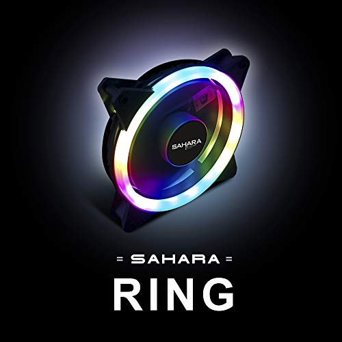 Sahara Gaming Ring RGB Ventilator 12cm