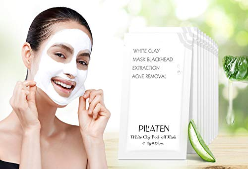 Mascarilla Peel-Off de Arcilla Blanca 10 gr - White Clay Mask - Pilaten