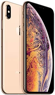 Apple iPhone XS Max, US Version, 512GB, Gold – Unlocked (Renewed)