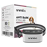 Animigo Anti Bark Collar For Dogs - Bark Stopper Control Collar For Small