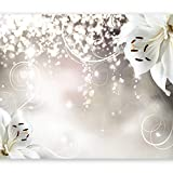 murando Fotomurales Flores 350x256 cm XXL Papel pintado tejido no tejido Decoración de Pared decorativos Murales moderna de Diseno Fotográfico b-a-0012-a-b