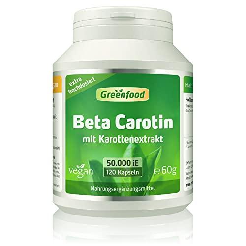 Greenfood Natural Products -  Beta Carotin, 50.000