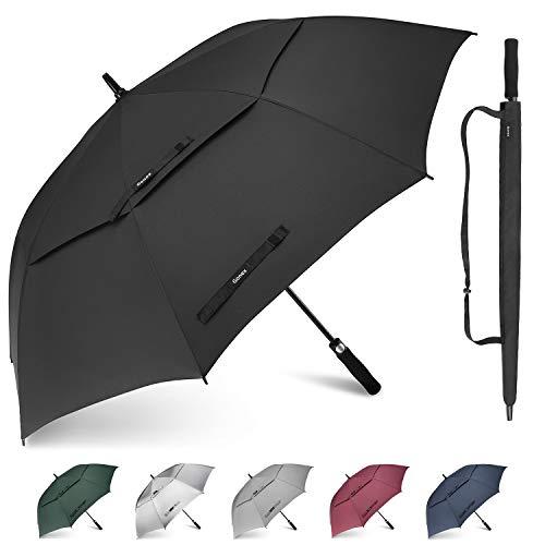 Gonex paraguas automático abierto de golf 62/68 pulgadas gr