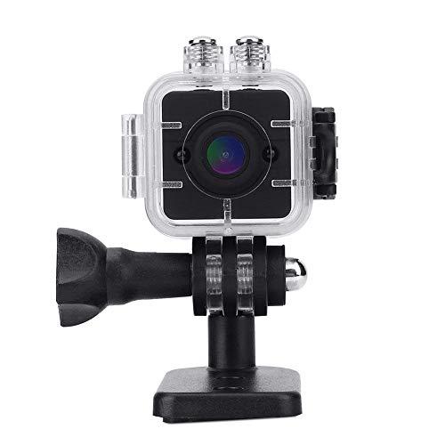 VGEBY Infrarot Mini Kamera Nachtsicht HD Camcorder Wasserdicht Cube 1080P Sportkamera mit Halterungen