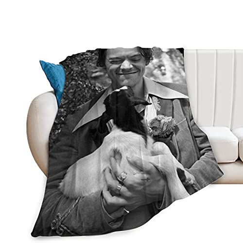 Harry Styles Deken Soft Touch, Anti-pilling luxe, comfort Geschikt voor bed, bank, camping voor kinderen en volwassenen