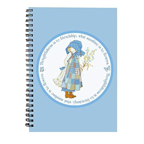 Holly Hobbie Thoughtfulness Friendship Sunlight Flowers Spiral Notebook