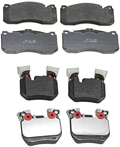 Front Rear Brake Pad Sets Kit Genuine For BMW Bas E88 E82 Super-cheap 135i Max 47% OFF