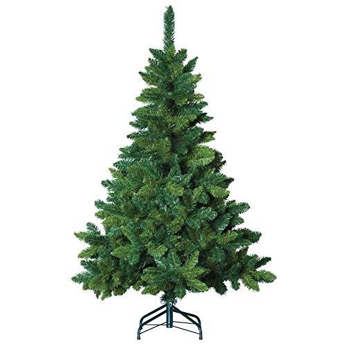 FEERIC LIGHTS & CHRISTMAS Albero di Natale Artificiale con fioritura Verde - Altezza 2.10m - 880 Rami - Alta qualità