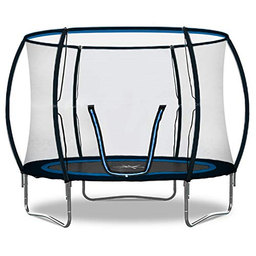 Rebo Jump Zone II Trampoline with Halo Safety Enclosure 2020 Model - 10FT