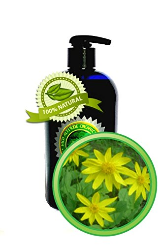 Arnica Oil Extract (Arnica Montana) - 16 oz- Pure and Potent- Anti-inflammatory for Sore Muscles, Bruises, Sprains, Fractures, Natural Pain Remedy, Sunburn, Post-Surgery Bruising.