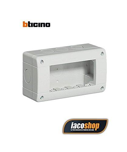Bticino Mecanismos Plexo-Idrobox 24404 - Ib-Caja Ip40 4M 灰色