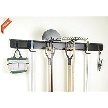 Ultrawall 8PC Garage Organizer, Garage Storage System With Hooks, Tool Organizer Holder Hanger