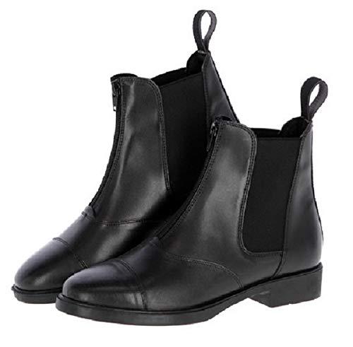 Kerbl Covalliero Reitstiefelette Bristol, Leder Stiefelette Lederstiefelette, schwarz 40