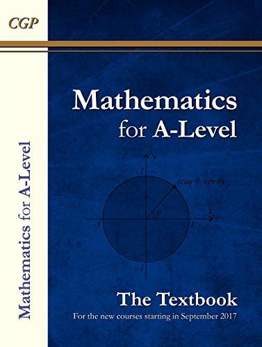 A-Level Maths Textbook: Year 1 & 2 (CGP A-Level Maths)