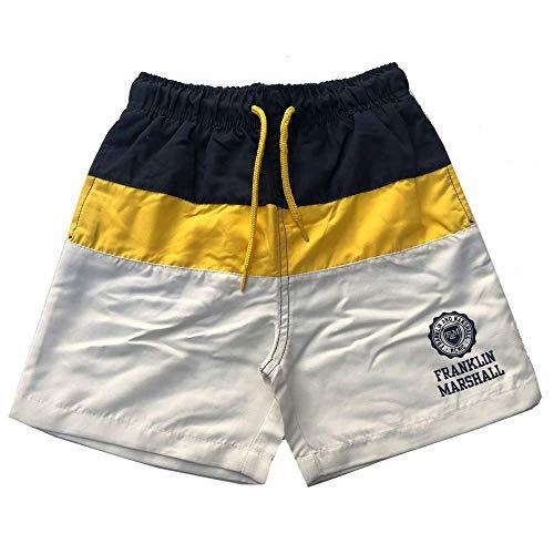 Franklin & Marshall Niños Shorts Baño Azul Marino/Amar