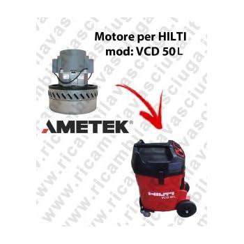 VCD 50L Motor de aspiración ametek para aspiradora y te Hilti: Amazon.es: Industria, empresas y ciencia