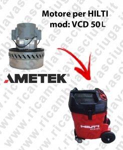 VCD 50L Motor de aspiración ametek para aspiradora y te Hilti