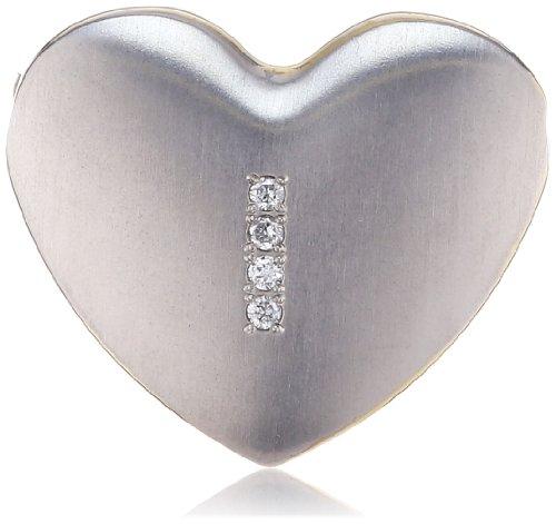 Boccia Damen-Anhänger Titan Herz (Seiten Gp) 4 Br. 0,02 0708-06