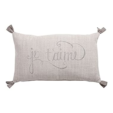 Ethan Allen Je t'aime Pillow