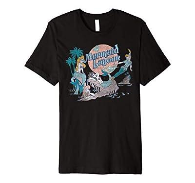 Disney Peter Pan Distressed Mermaid Lagoon Premium T-Shirt