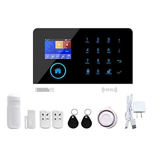 KEKE WiFi GSM Funk Alarmanlage Türalarm Fensteralarm, bei Alarm SMS Anruf, Mittels App steuerbar, fernsteuern, für Haus Büro