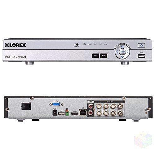 Lorex 8 Channel MPX Analog HD 1080p Security Surveillance 2TB DVR DV7082