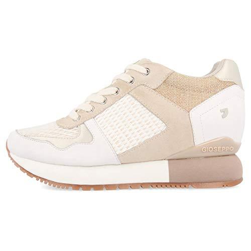 Sneakers Beige con cuña Interna para Mujer Bastogne