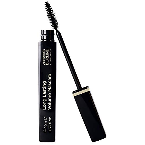 Annemarie Börlind Long Lasting Volume Mascara, black, 1er Pack (1 x 10 ml)