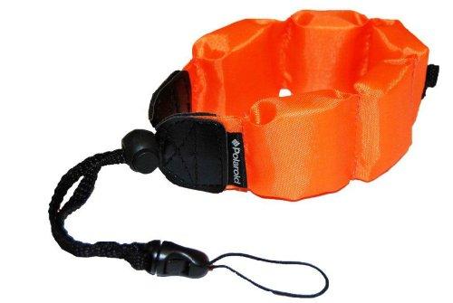 Polaroid Schwimmende Handschlaufe für wasserdichte Kameras, Camcorders, Gehäuse (orange)