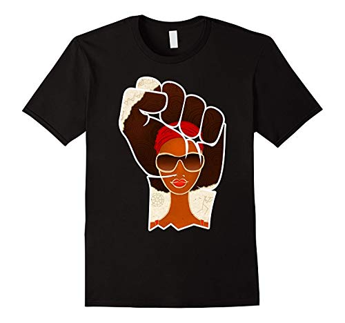 Unks Design Tops Men's Short Sleeve Printed O-Neck Civil Rights Black History Movement T-Shirt