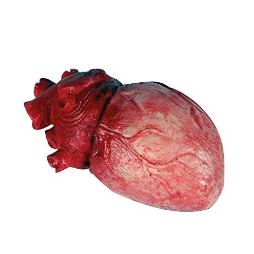 EUROCARNAVALES Corazón de Látex 8x14 cm