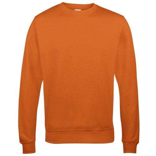 AWDis Just Hoods Unisex Sweatshirt mit Rundhalsausschnitt (M) (Dunkelorange)