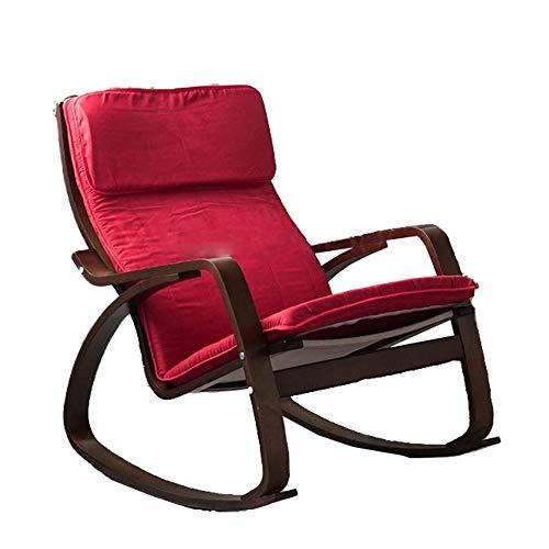 SFBBAO Liegestuhl Sonnenliege Schaukelstuhl Home Balkon Liegeer Wohnzimmer Stoff Mittagessen Stuhl Schwangere Frau Stuhl Wie Gezeigt Funken Fy 19