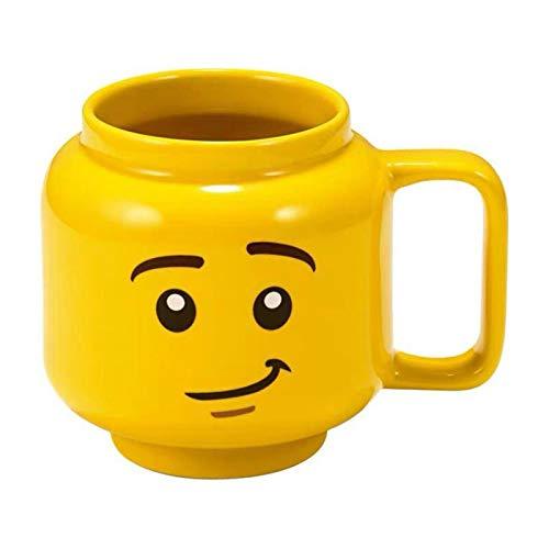 250 ml Copa de cerámica Sonriendo Expresión Cara Historieta Café Leche Tazas Tazas De Tazas De Tazas Lindas Tenedor de Agua para Amigos Niños