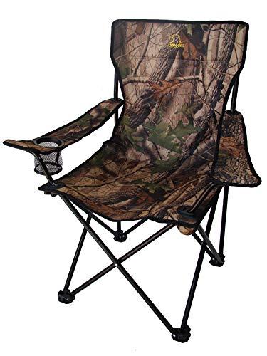 BENISPORT - Sillón plegable camuflaje - Sillon de acampada, camping, outdoor, silla...