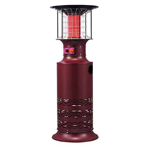 AJH Patio Heaters, Flame Outdoor Heater, Propane Liquefied Gas Heater, Rapid Heating Stove for Commercial Home Garden