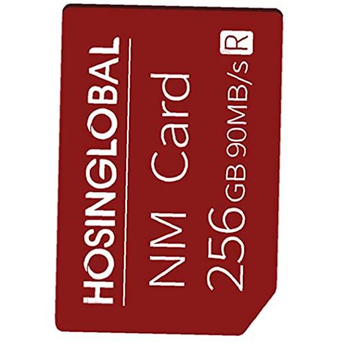 Tarjeta de memoria del teléfono 256G NM Micro SD Tarjeta Teléfono móvil Tarjeta de expansión Compatible con Huawei Smart Phone Red Smart Life