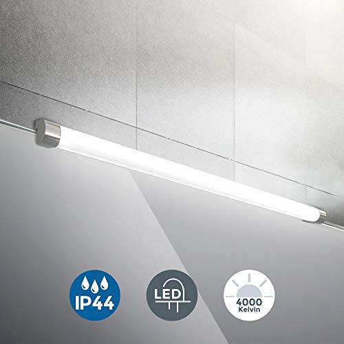 LED Spiegelleuchte | inkl. 10W 1200lm LED Platine | Spiegelaufsatzleuchte 57,2 cm | IP44 | 4000K neutralweiss | Wandlampe
